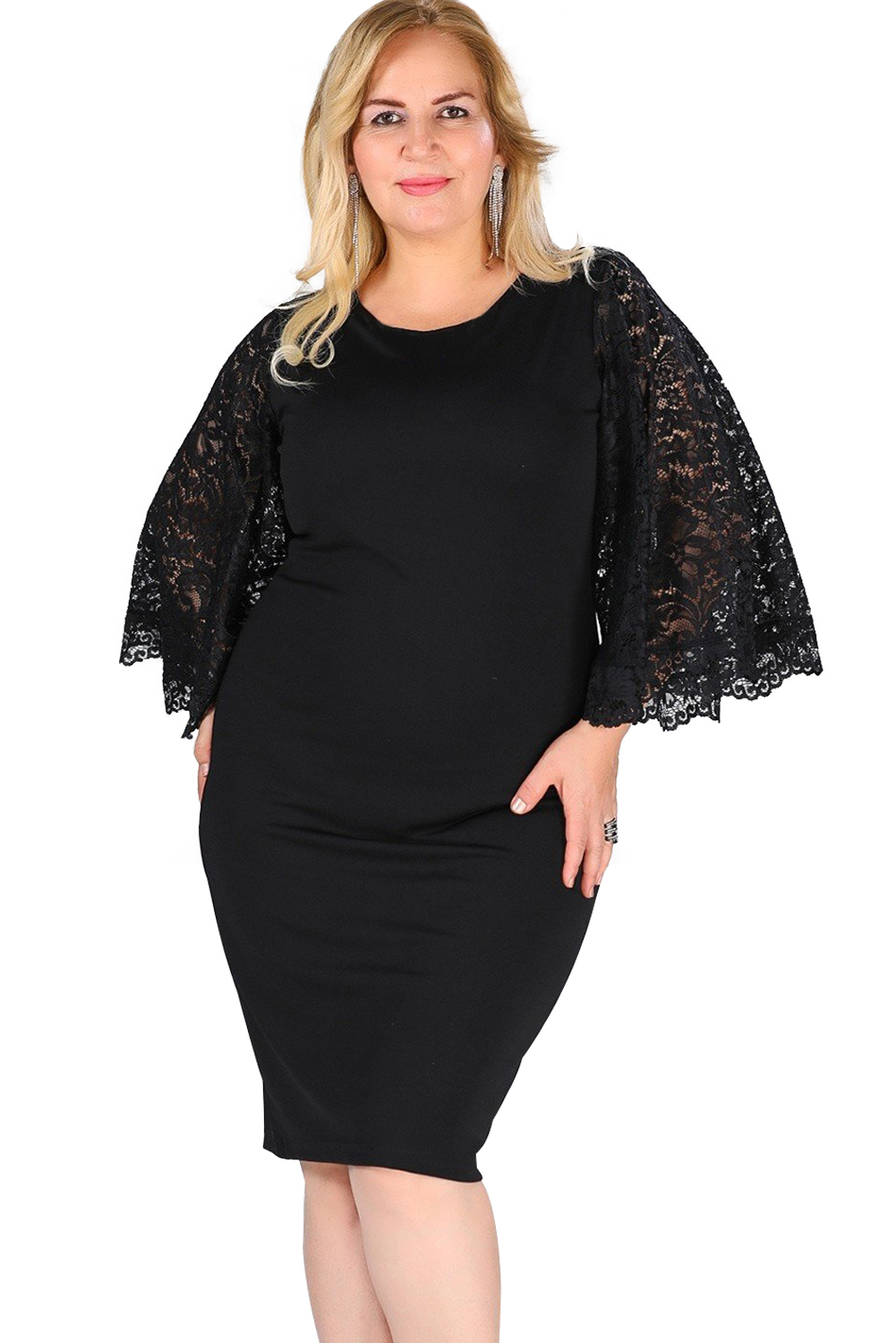 Mini flutter with bodycon sleeves batwing dresses gallery