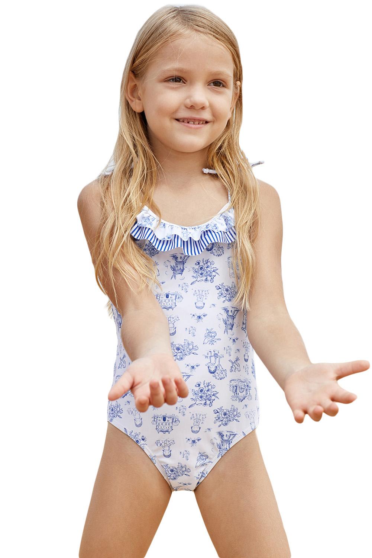 Wholesale Girls Swimsuits, Cheap Cute Print Toddler Girls ...