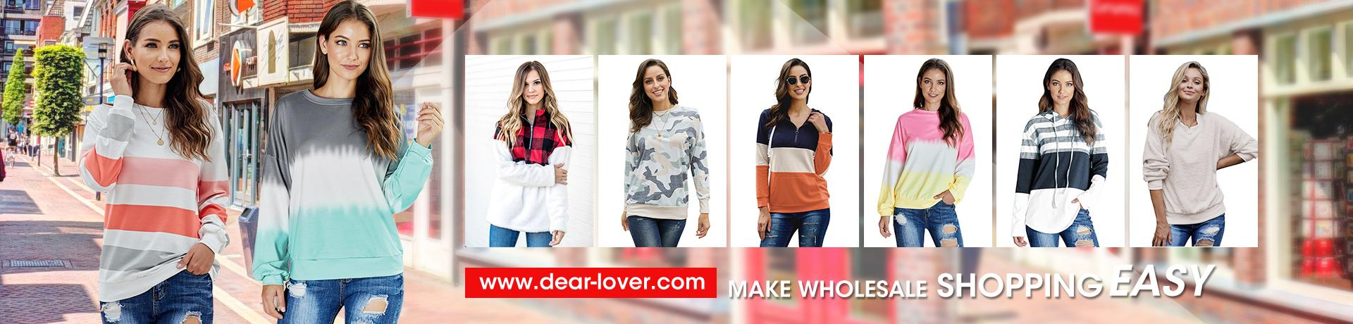 Wholesale Sweatshirts Hoodies for Women