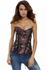 Clasps & Chains Luxury Brocade Steampunk Corset