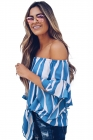 Women Stripes Blouse
