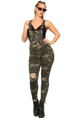Stake Out Camo Overall