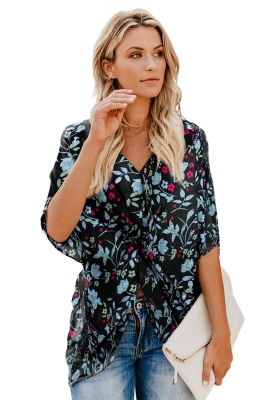 Women's Clothing Capable Women Summer Long Flare Sleeves Beach Mini Dress Hollow Out Crochet Floral Lace Bikini Cover Up Eyelash Trim Sheer Pullover Tops For Sale